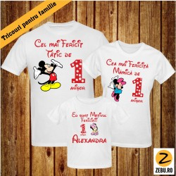 Set Tricouri Familie - Mickey